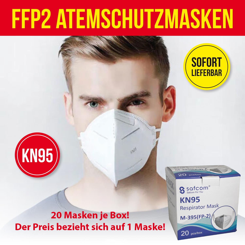 FFP2 Schutzmasken Standard 95 in 20iger Box