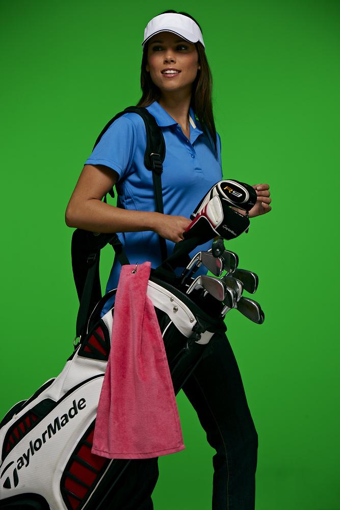 5er Pack Golf-Handtuch - Golftuch zum Säubern des Golfschlägers