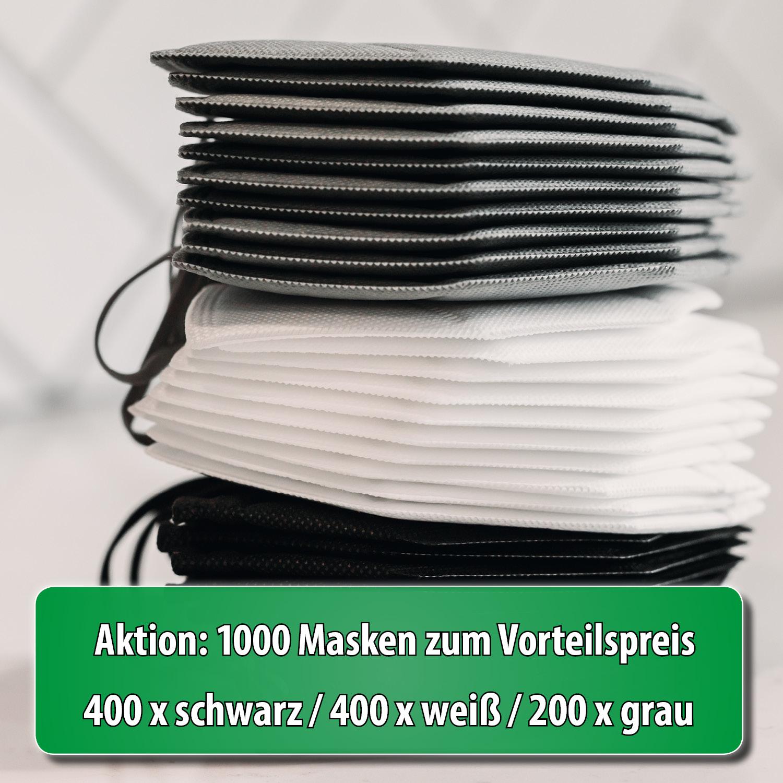 Sonderaktion 1000 Stück FFP2 Masken-MIX zum Vorteilspreis