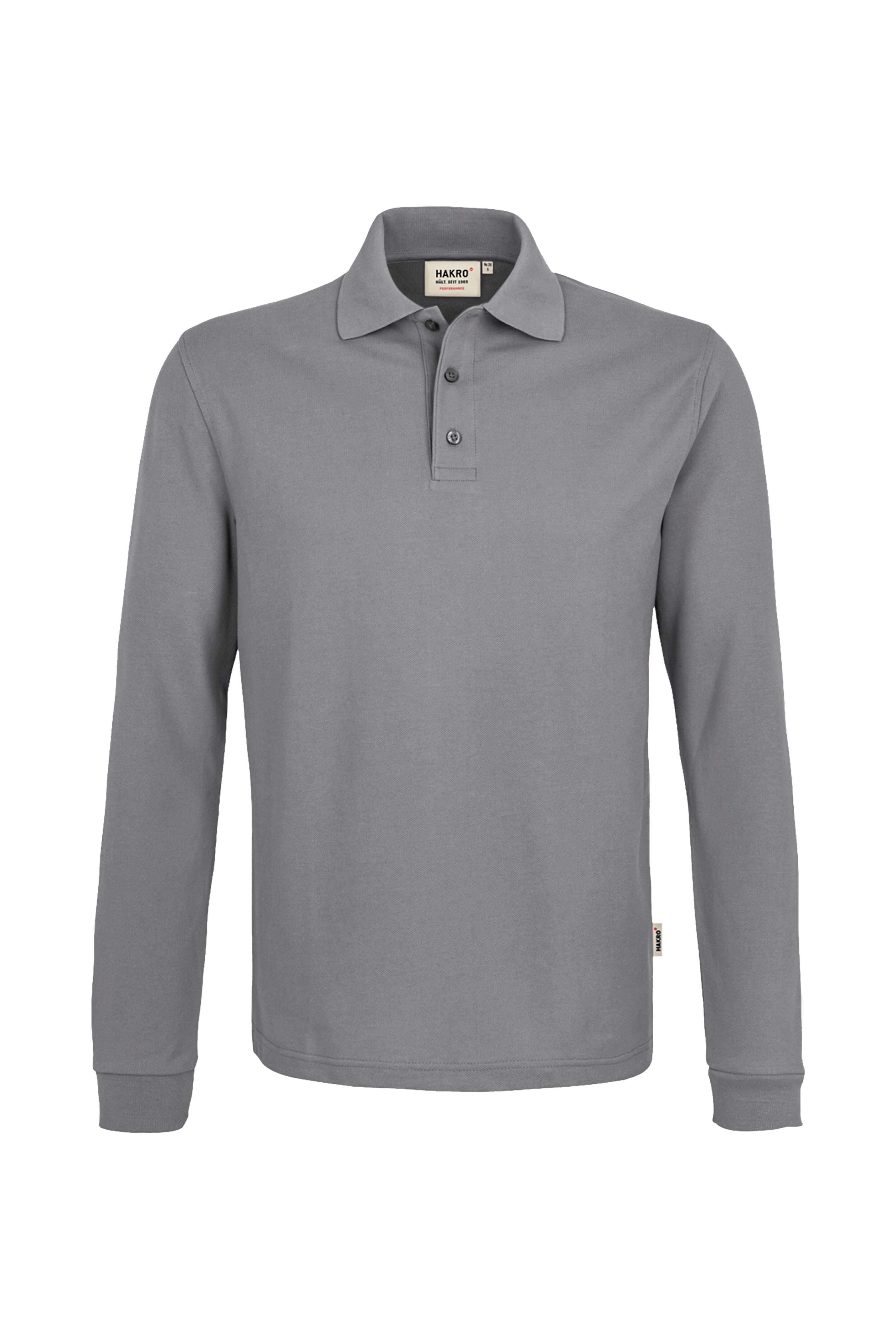 NO. 815 HAKRO Longsleeve-Poloshirt Mikralinar®