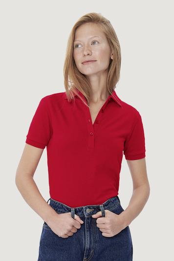 Women-Poloshirt Cotton-Tec