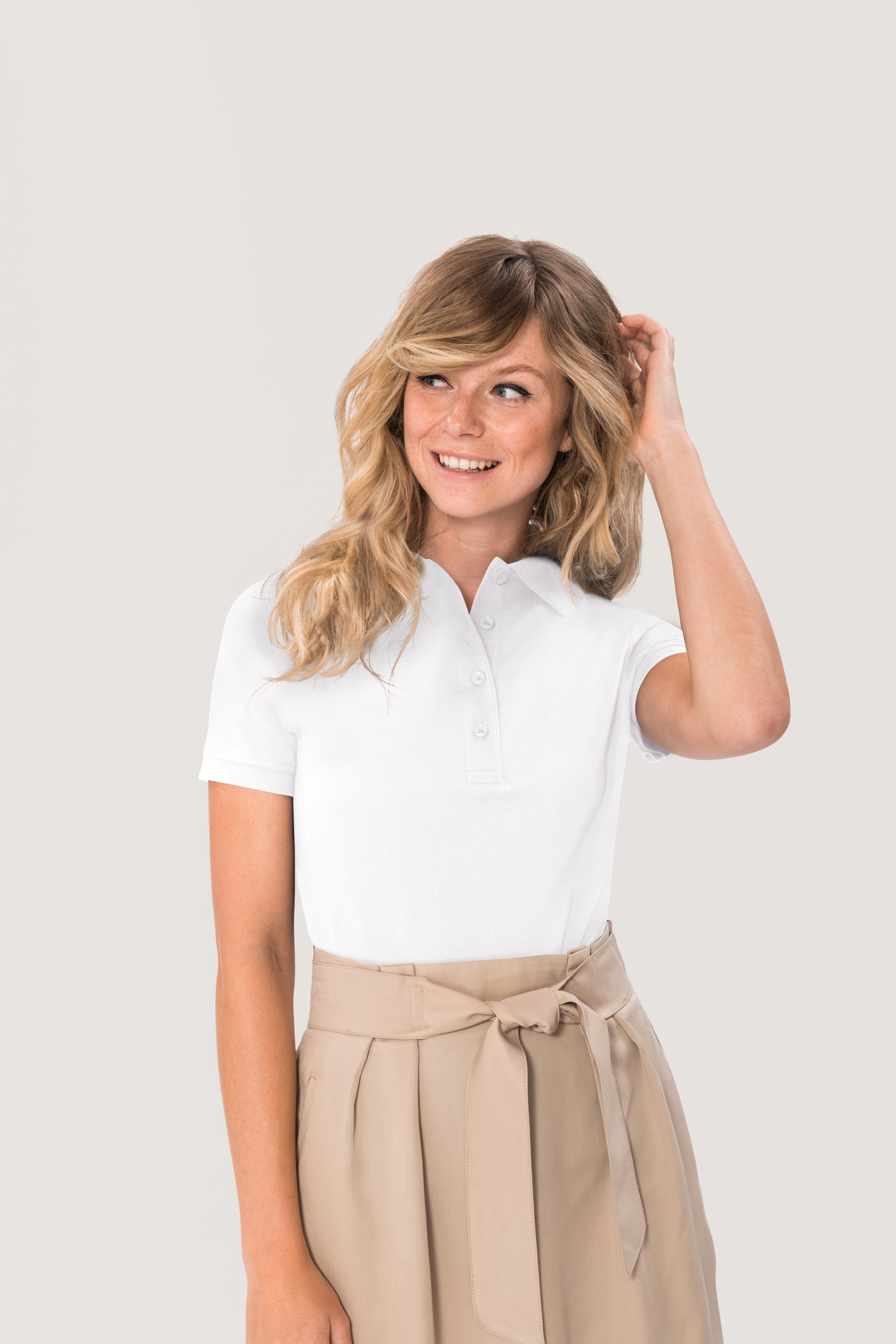 HAKRO Damen Poloshirt Pima Cotton NO. 201