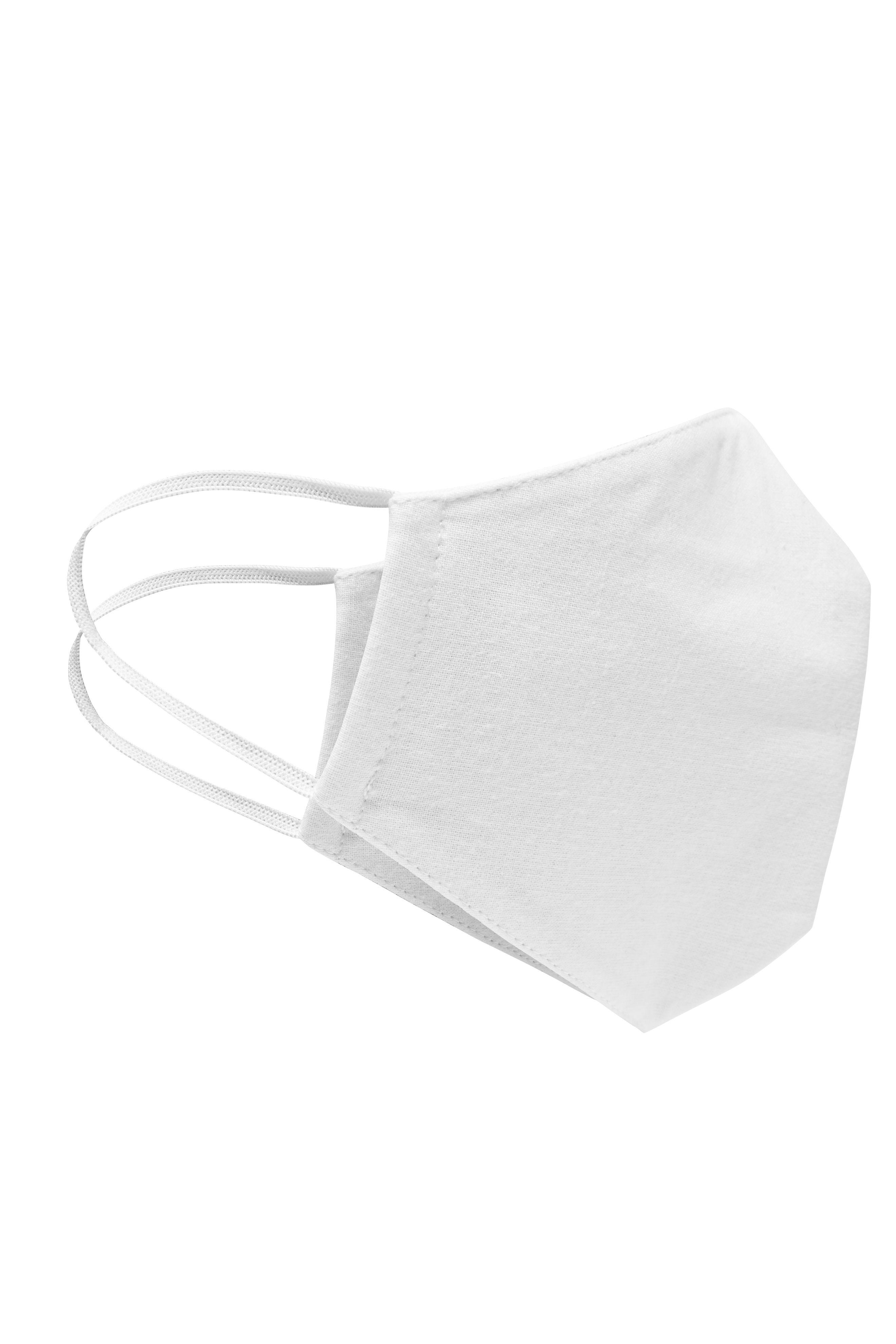 waschbare Mund-Nasen-Maske, weiß