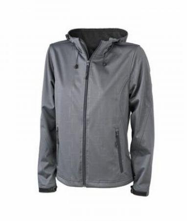 Ladies´ Hooded Softshell Jacket